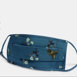 Coach Mask Rexy Face Mask With Floral Print
